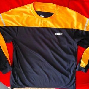 Long sleeve shirt,saucony,size xl